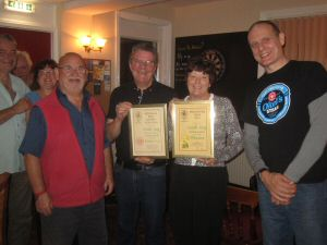 Southampton Hampshire Pub of the Year presentation
