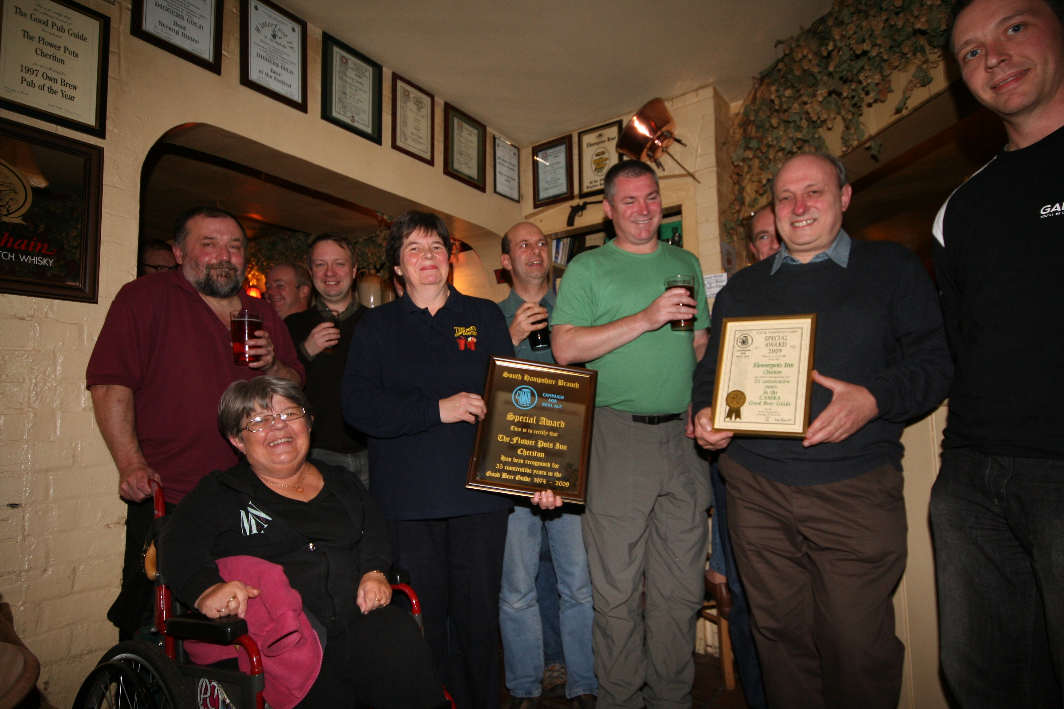 183 & South Hants CAMRA - Press Releases