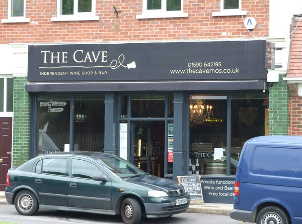Cave, Milford on Sea